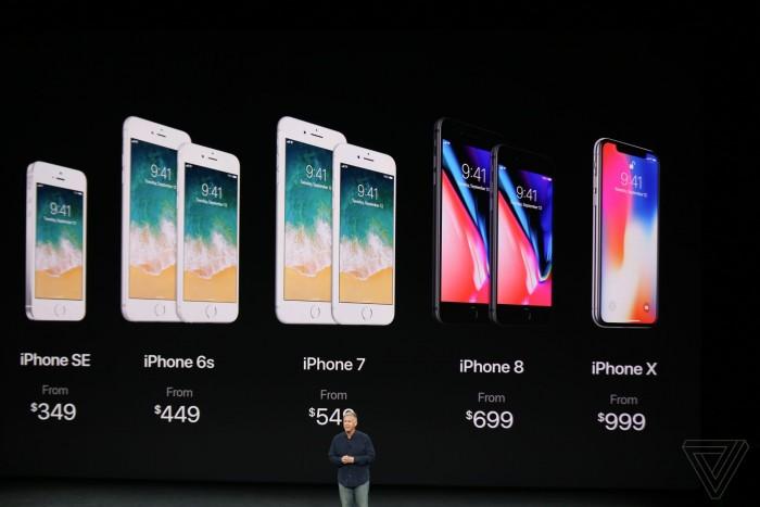 iPhone 8、iPhone 8 Plus、iPhone X 买哪儿个版本最划算?以及售价汇总